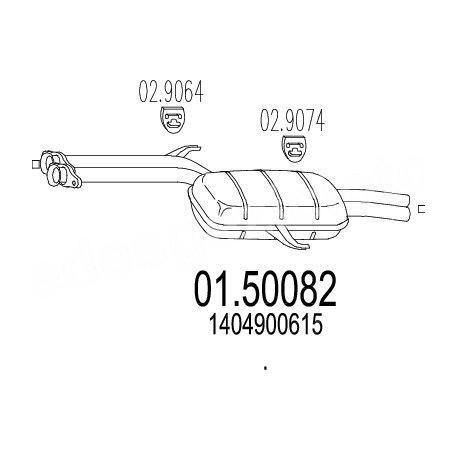 A1404900615 1404900615 W140 ORTA EGZOZ 600 SE ERNST