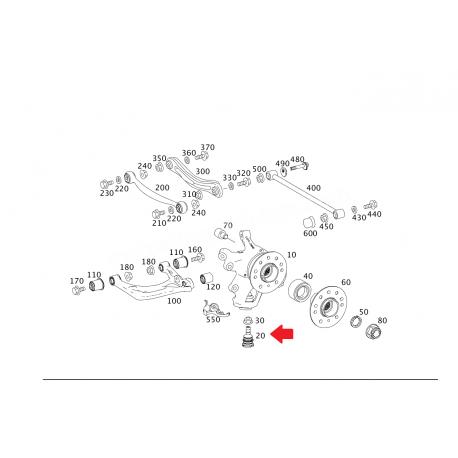 A1643520127 1643520127 W164 ROTİL LEMFÖRDER
